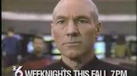 """I'm Shaving My Head!"" TV commercial for Star Trek The Next Generation"