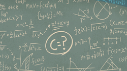 M2E32 Persamaan matematika Miss Skullnick yang rumit