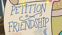 M3E20 Petition of Friendship Star Butterfly