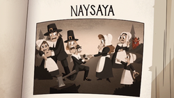 S2E26 Naysaya entry in Paranormal Folklore book