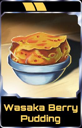 Wasaka Berry Pudding