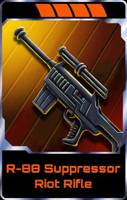 R-88 Suppressor Riot Rifle