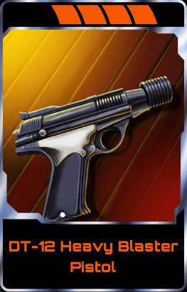 DT-12 Heavy Blaster Pistol