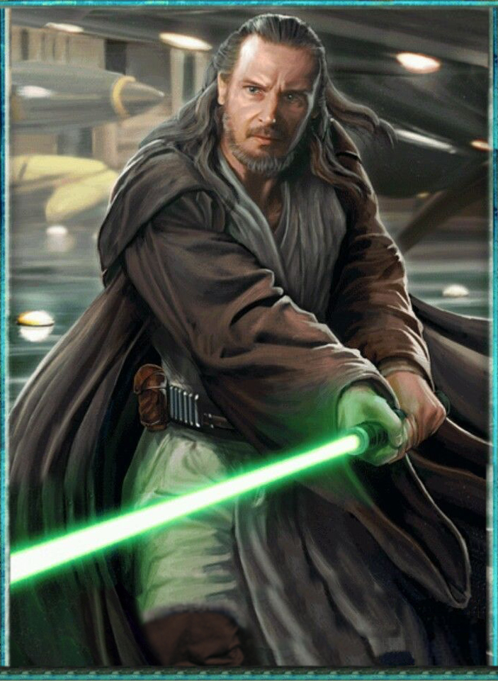 Image result for qui gon jinn clone wars