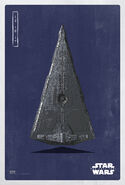 The Last Jedi Stardestroyer Poster
