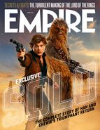 Han & Chewie Solo Empire Cover