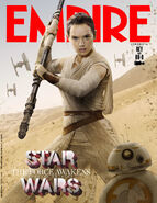 TFA Rey & BB-8 Empire Cover