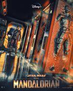 The Mandalorian Skinner Creative Poster