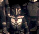 Mandalorian Vizsla warrior