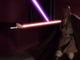 Duel in Palpatine's office