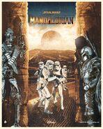 The Mandalorian Chris Malbon Poster