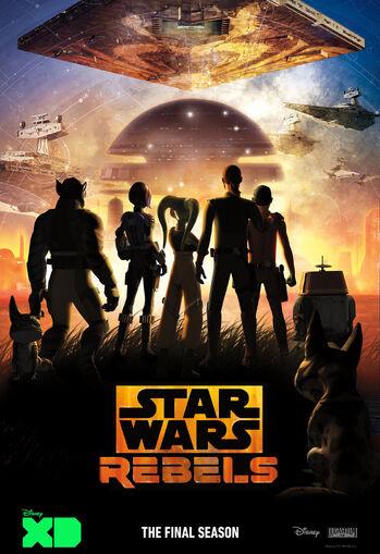 Star Wars Rebels Season Four Cropped Season Box