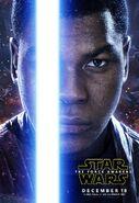 The Force Awakens Finn Poster