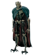 Grievous transparent