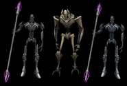 Grievous and Magnaguard showcase