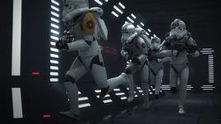 Imperial jumptroopers