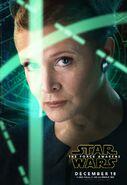 The Force Awakens Leia Poster