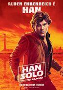 Solo Han Brazillian Poster