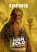 Solo Chewie Brazillian Poster