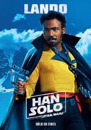Solo Lando Spanish Poster