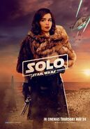 Solo UK Qi'Ra Poster