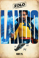 Lando Solo Teaser Character Poster