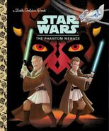 The Phantom Menace Golden Book Cover