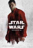 Finn TLJ White Poster