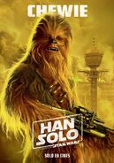 Solo Chewie Spanish Poster