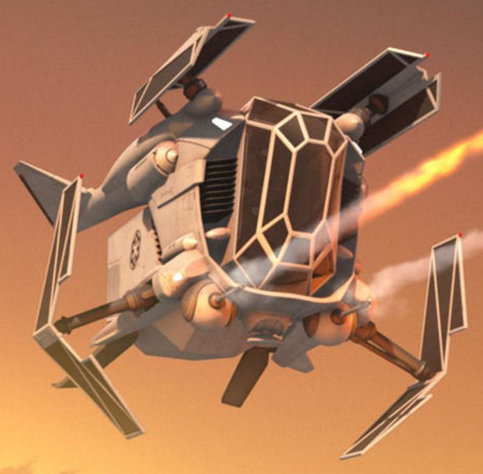 New vehicle type: Gunship — STAR WARS™ BATTLEFRONT™