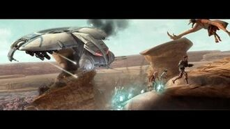Beginning of the Battle of Onderon - Star Wars-ONDERON - PART I