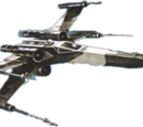 Partisan X-wing fighter