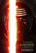 The Force Awakens Kylo Ren Poster