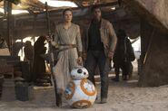 Rey Finn & BB8 The Force Awakens