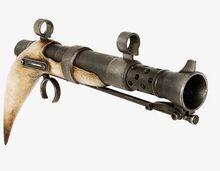 Dasha Promenti's blaster pistol