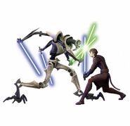 General Grievous vs Anakin