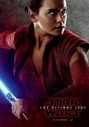 Rey Red TLJ Poster