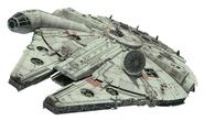 Millennium Falcon Fathead TROS