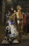 C-3PO & R2-D2 The Force Awakens