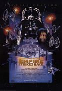 The Empire Strikes Back Re-Release Poster