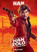 Solo Han Spanish Poster