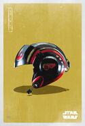 The Last Jedi Rebel Helmet Poster