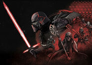 TROS Official Style Guide The Knights of Ren Poster