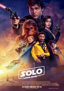 Solo UK Poster