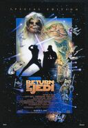 Return of the Jedi Re-Release Poster