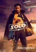 Solo UK Lando Poster