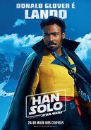 Solo Lando Brazillian Poster