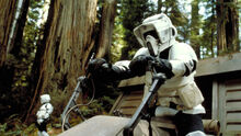 Endor scout trooper