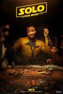 Solo Sabacc Poster Lando