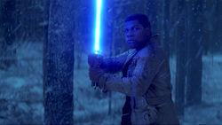 Finn Lightsaber Stance